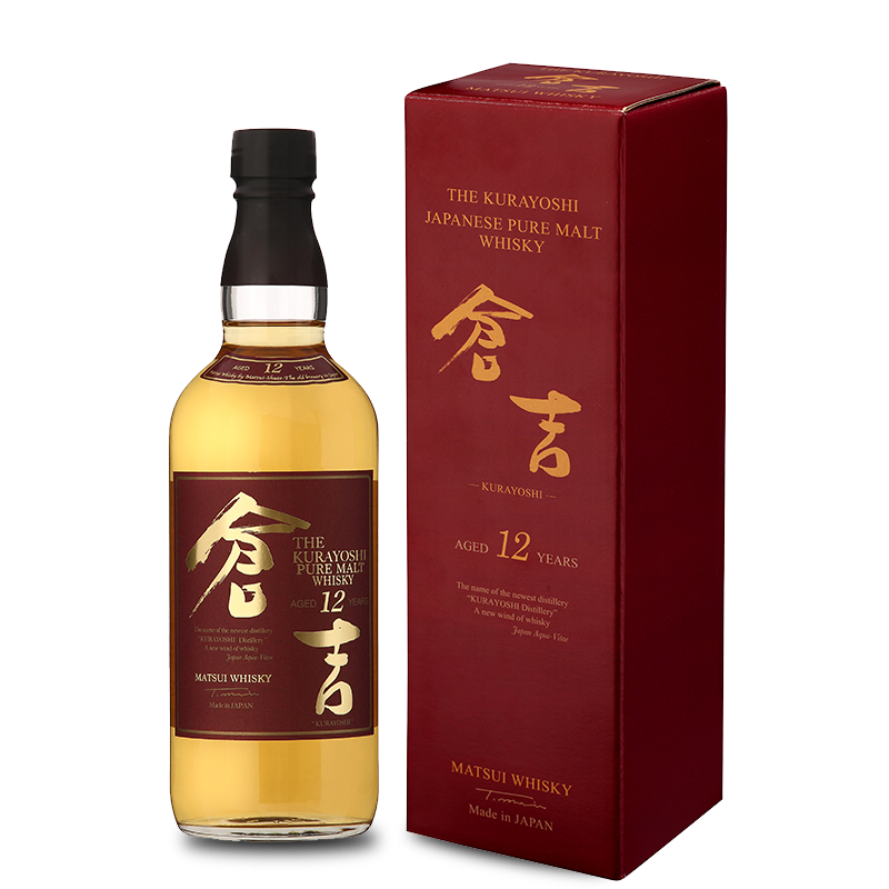 The-Kurayoshi-Aged-12 years-new-pack-sans-fond