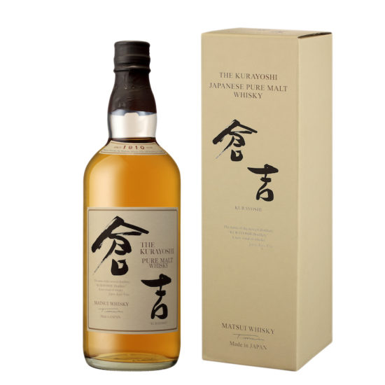 THE KURAYOSHI PURE MALT ET COFFRET