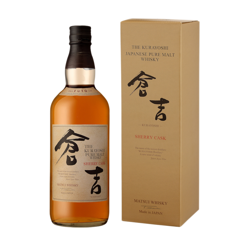 THE KURAYOSHI SHERRY CASK ET COFFRET